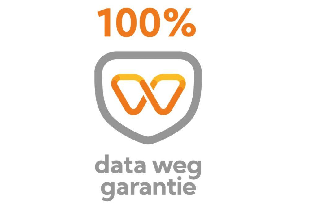 100% data weg garantie